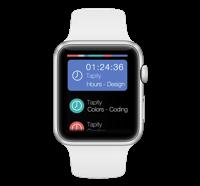 Apple Watch White BG
